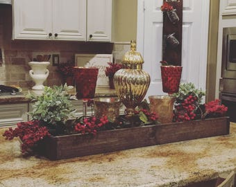 Large Centerpiece counter/table box