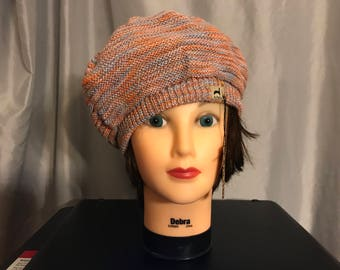 Slouchy beret by Peruvian Link