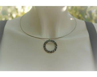 Hanging pendant-vintage anni ' 20 authentic-art nouveau silver with marcassiti-Art Nouveau