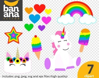 SALE Unicorn  png jpg svg eps files high resolution BV-SP-0279