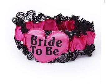 Bride to be Garter -Bridal shower