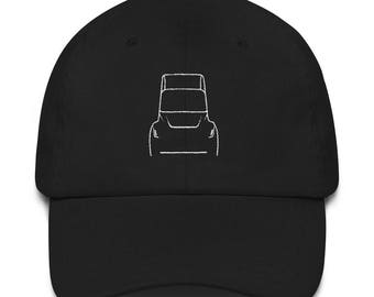 Tesla Motors Semi Truck Unveiling Replica Embroidered Hat