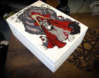 Wooden Box - Little Red Riding Hood