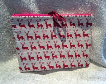 Stag Fabric Tablet/IPad Cover