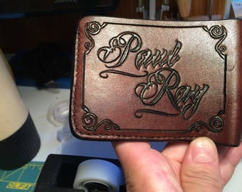 Custom Bi-Fold Wallet