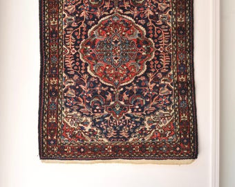 3.6 x 4.10   FLORENCE  Vintage Persian Rug
