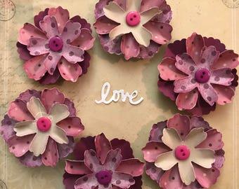 Purple flower love