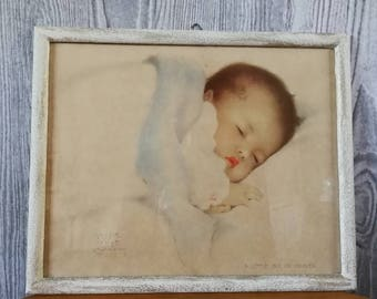 Bessie Pease Gutmann Baby print, A little bit of heaven