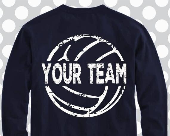 volleyball volleyball svg distressed volleyball shirt