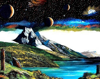 Sacred mountain of the universe