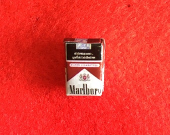 Tiny Cigarette Packet Pins