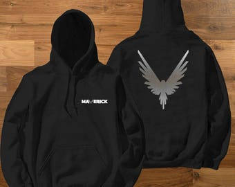 KIDS Size Silver Maverick Bird Team 10 Official Hoodie Unisex Team 10 Jake Paul JP  best price Inspired by Log Youtuber celebrity youtube
