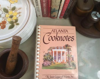 Atlanta Cooknotes by The Junior League of Atlanta, 1993 / Southern Cookbooks / Southern Recipes / Junior League Cookbooks