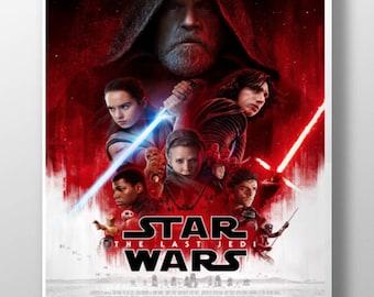 Star Wars Episode VIII NEW The Last Jedi Movie Poster 2017 300gsm 13X19