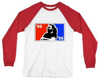 Jerry Long Sleeve Baseball T-Shirt