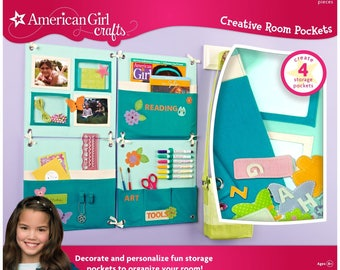 American Girl Crafts Creative Room Pockets Turquoise