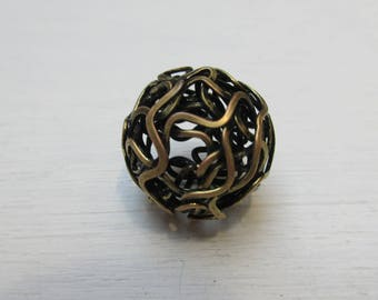 Wire ball bronze 18 mm