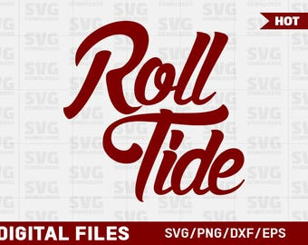 Roll Tide SVG Graphic