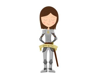 Feminist Plush Joan of Arc
