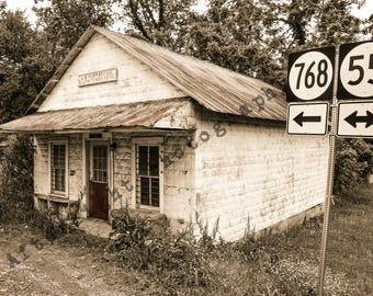 Abandoned Photography, Abandoned Post Office, Urban Decay, Home Decor, Wall Decor,