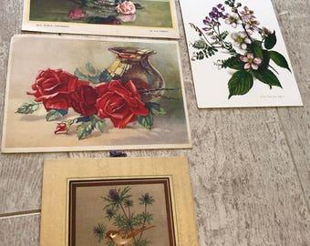 Vintage pretty paper ephemera
