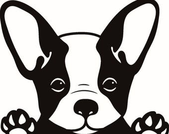 French Bulldog #1 Dog Breed K-9 Animal Pet Puppy Paws Canine Hound .SVG .EPS .PNG Digital Clipart Vector Cricut Cut Cutting Download File
