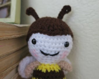 Crochet Bumble Bee Toy