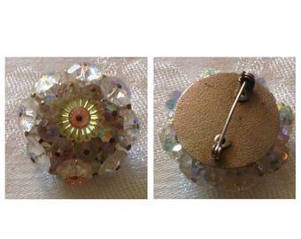Anniversary Sale Vintage Circular Pin