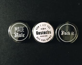 Extra Cheeky Button Pack,
