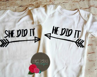 Twin Onesies, Twin Outfits, twin onesies girls,twin onesies boy girl, twin shirts , twin onesie set