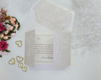 Wedding invitation suite, Wedding invitation, invitation, weddings, invitation set, romantic wedding, flower patterned