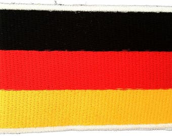 Patch/Ironing-Germany flag flag land-red-7.5 x 4.8-by Catch-the-Patch ® patch appliqué applications for ironing application patches patch