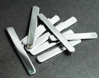 """Fifty 1100 1/4"""" Wide 14g Aluminum Ring Blanks - Mixed Sizes! Small, Medium, and Large - Handstamping Blanks, Jewelry Supplies"""