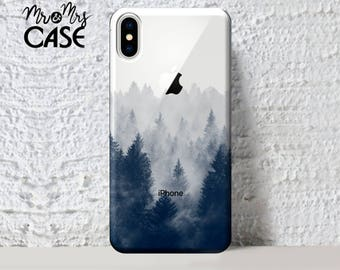 iPhone X-iPhone 8-iPhone 8 Plus-Clear Forest iPhone case-iphone se case-case for iPhone 6s-iphone 7 case-iphone 7 Plus-iphone 6s Plus case