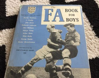 Vintage book - The FA Book for Boys 1951-52