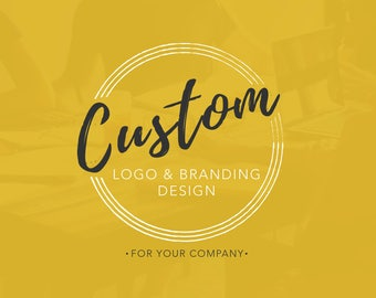 Logo Design, Custom Logo, Branding Design, Graphic Design, Professional Business Logo
