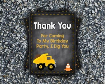 Construction Thank You Card
