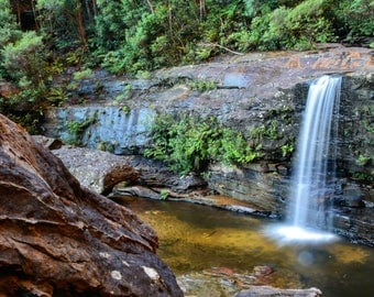 Landscape Photography Waterfall One fine art print
