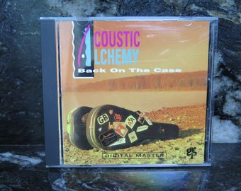 Acoustic Alchemy Jazz Easy Listening Back on the Case Webb Carmichael CD