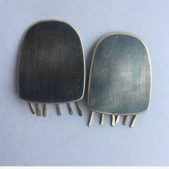 Rhopilema Jellyfish Earrings