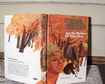 Trixie Belden #5 Mystery off Glen Road,  by Julie Campbell, Vintage 1970 edition