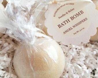 Angel Whispers Luxury Bath Bomb