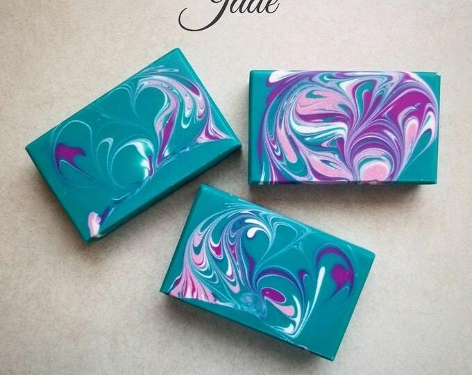 Jade Silk Soap cold processed soap