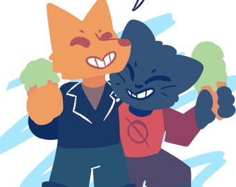 Night In the Woods 5x7 prints