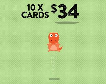 Bulk buy discount greeting cards // High quality 350gsm matt card