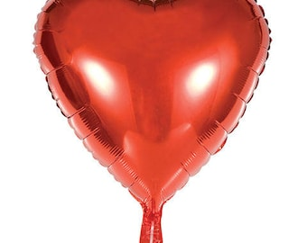 """Red Heart Balloon 18 or 36"""""""