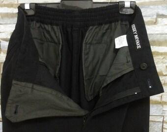 Vintage Issey Miyake Pants Rare Designer Japan Comme des Garçons Junya Watanabe Yohji Yamamoto I.S Issey Miyake S-M