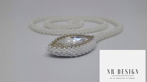 Swarovski light point necklace