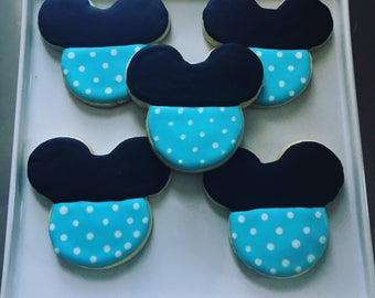 Mickey Mouse Sugar Cookies | 1 dozen