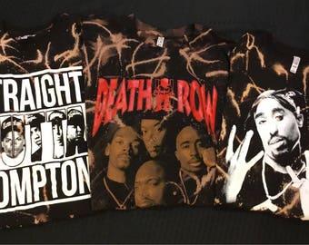 Bleached Rap T-Shirts